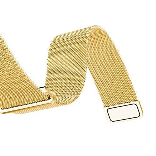 Samsung Gear Sport 20mm bandje Samsung Galaxy 42mm bandje SM-R810 Milanese Loop goud_003