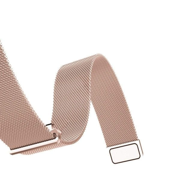 Samsung Gear Sport 20mm bandje Samsung Galaxy 42mm bandje SM-R810 Milanese Loop rose goud_015