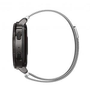 Samsung Gear Sport 20mm bandje Samsung Galaxy 42mm bandje SM-R810 Milanese Loop zilver_001