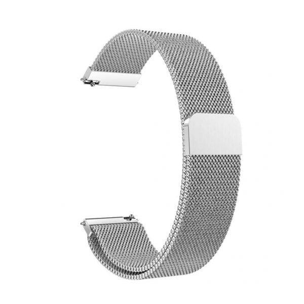 Samsung Gear Sport 20mm bandje Samsung Galaxy 42mm bandje SM-R810 Milanese Loop zilver_008