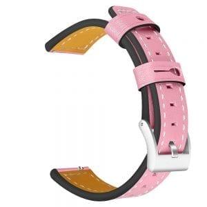Samsung Gear Sport 20mm bandje Samsung Galaxy 42mm bandje SM-R810 leer roze_001