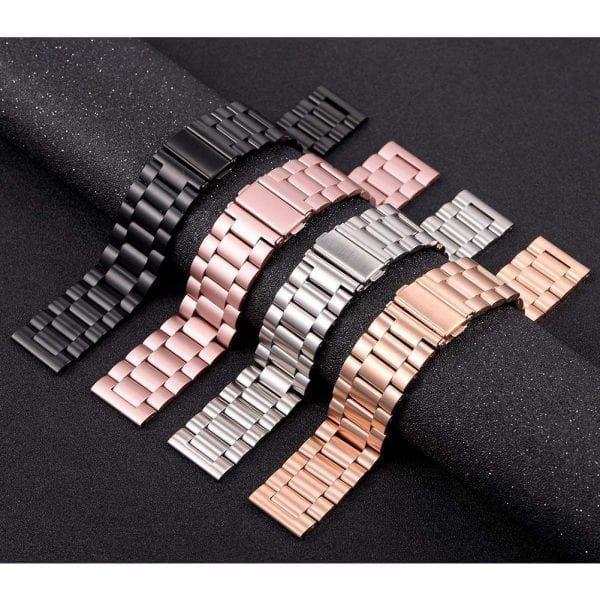 Samsung Gear Sport bandje Galaxy Watch 42mm SM-R810 Galaxy Watch 42mm SM-R810 RVS Zwart Metaal_006