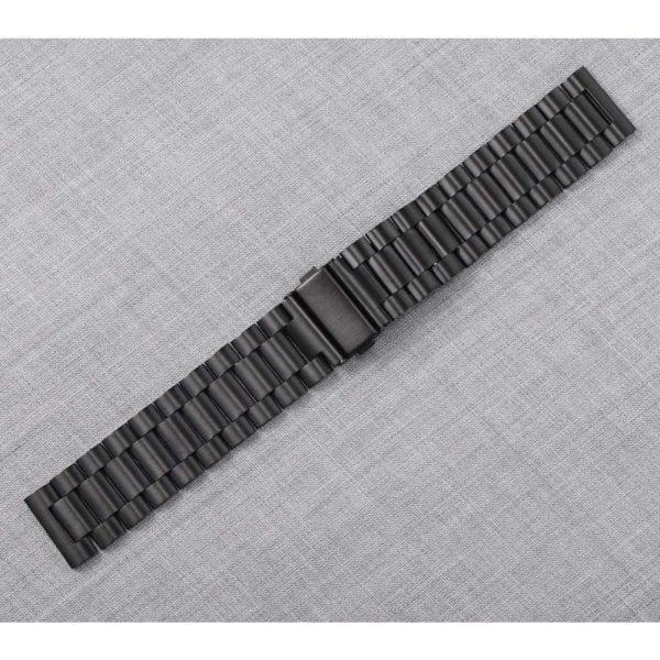 Samsung Gear Sport bandje Galaxy Watch 42mm SM-R810 Galaxy Watch 42mm SM-R810 RVS Zwart Metaal_009