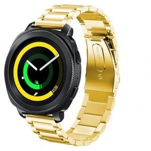 Samsung Gear Sport bandje Galaxy Watch 42mm SM-R810 Galaxy Watch 42mm SM-R810 RVS goud Metaal_003