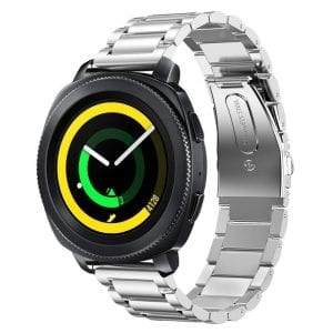 Samsung Gear Sport bandje Galaxy Watch 42mm SM-R810 Galaxy Watch 42mm SM-R810 RVS zilver Metaal_004