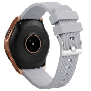 Samsung Gear Sport bandje Galaxy Watch 42mm SM-R810 Galaxy Watch 42mm SM-R810 silicone grijs small_001
