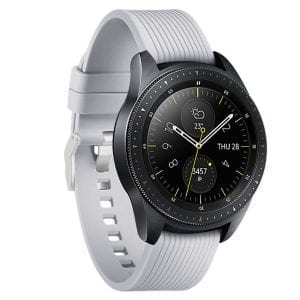 Samsung Gear Sport bandje Galaxy Watch 42mm SM-R810 Galaxy Watch 42mm SM-R810 silicone grijs small_002