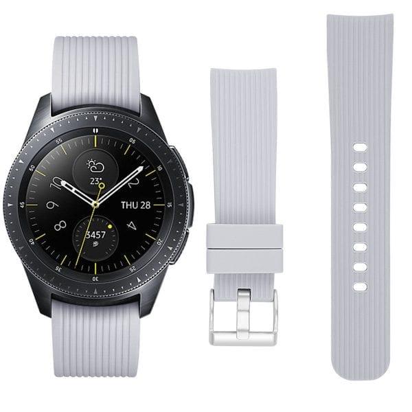 Samsung Gear Sport bandje Galaxy Watch 42mm SM-R810 Galaxy Watch 42mm SM-R810 silicone grijs small_003
