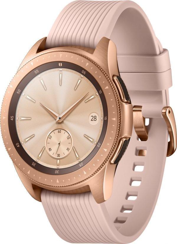 Samsung Gear Sport bandje Galaxy Watch 42mm SM-R810 Galaxy Watch 42mm SM-R810 silicone rose goud small_006