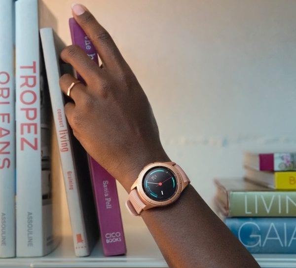Samsung Gear Sport bandje Galaxy Watch 42mm SM-R810 Galaxy Watch 42mm SM-R810 silicone rose goud small_008