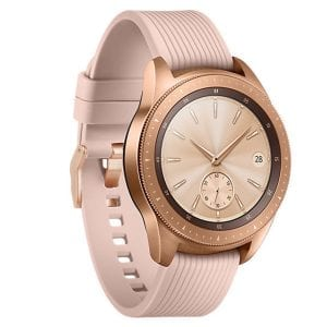 Samsung Gear Sport bandje Galaxy Watch 42mm SM-R810 Galaxy Watch 42mm SM-R810 silicone rose goud small_011