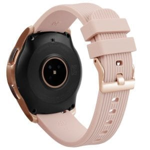 Samsung Gear Sport bandje Galaxy Watch 42mm SM-R810 Galaxy Watch 42mm SM-R810 silicone rose goud small_012