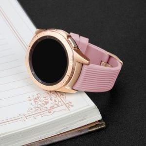 Samsung Gear Sport bandje Galaxy Watch 42mm SM-R810 Galaxy Watch 42mm SM-R810 silicone rose small_001