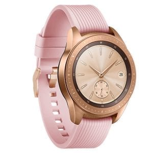 Samsung Gear Sport bandje Galaxy Watch 42mm SM-R810 Galaxy Watch 42mm SM-R810 silicone rose small_002
