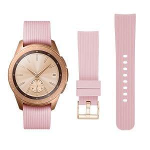 Samsung Gear Sport bandje Galaxy Watch 42mm SM-R810 Galaxy Watch 42mm SM-R810 silicone rose small_003
