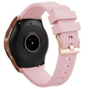 Samsung Gear Sport bandje Galaxy Watch 42mm SM-R810 Galaxy Watch 42mm SM-R810 silicone rose small_004