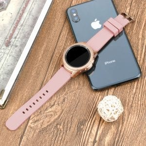 Samsung Gear Sport bandje Galaxy Watch 42mm SM-R810 Galaxy Watch 42mm SM-R810 silicone rose small_005