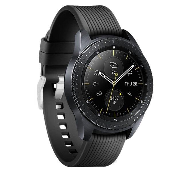 Samsung Gear Sport bandje Galaxy Watch 42mm SM-R810 Galaxy Watch 42mm SM-R810 silicone zwart small_004