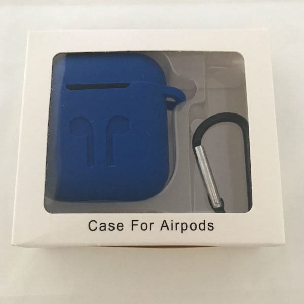 Case-Cover-Voor-Apple-Airpods---Siliconen-blauw
