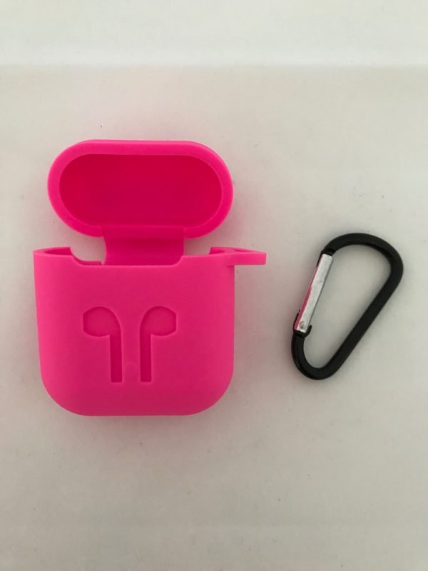 Case-Cover-Voor-Apple-Airpods---Siliconen-fel-roze