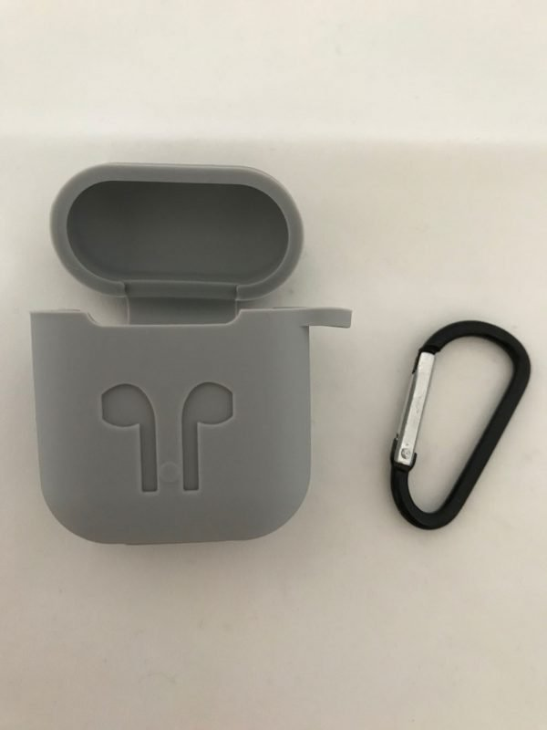 Case-Cover-Voor-Apple-Airpods---Siliconen-grijs