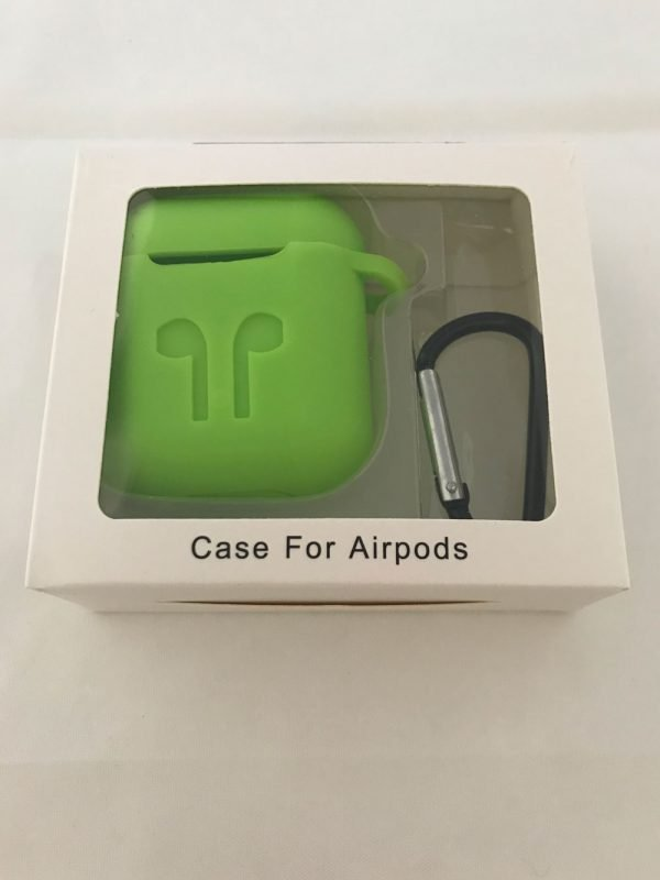 Case-Cover-Voor-Apple-Airpods---Siliconen-groen