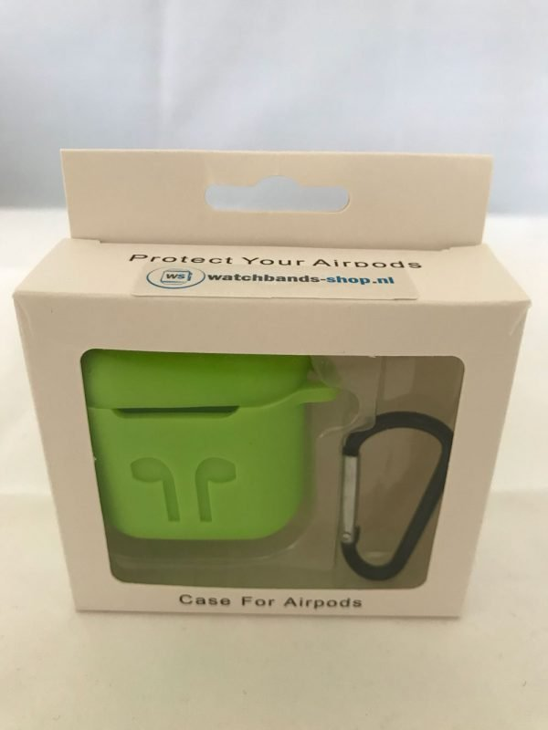 Case-Cover-Voor-Apple-Airpods---Siliconen-groen-2