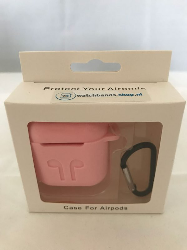 Case-Cover-Voor-Apple-Airpods---Siliconen-roze-12