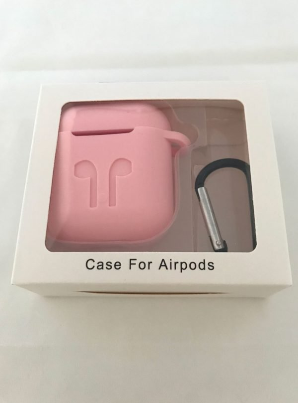 Case-Cover-Voor-Apple-Airpods---Siliconen-roze