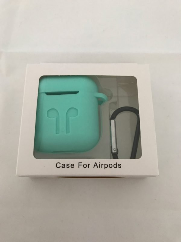 Case-Cover-Voor-Apple-Airpods---Siliconen-turkioos-