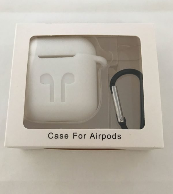 Case-Cover-Voor-Apple-Airpods---Siliconen-wit