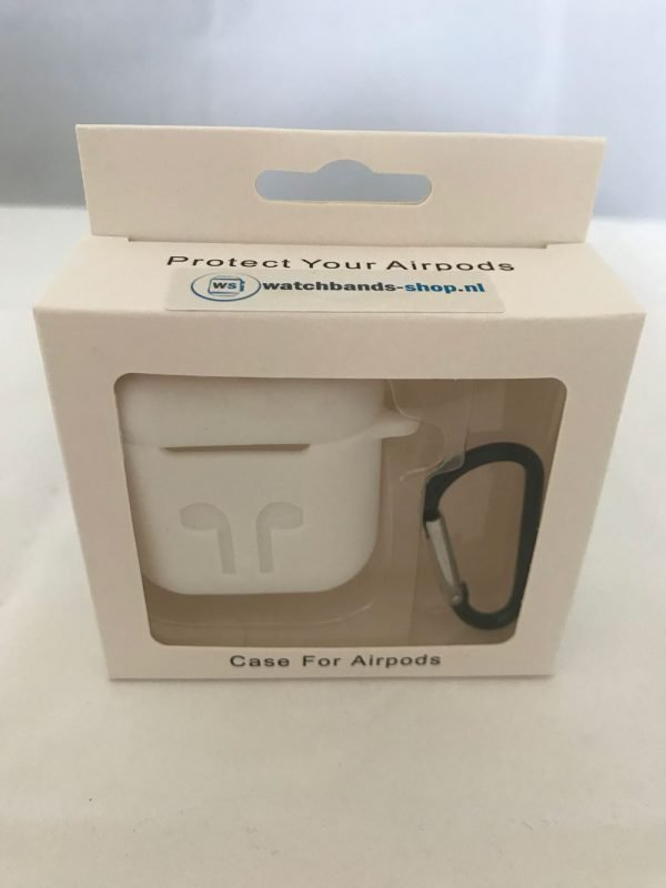Case-Cover-Voor-Apple-Airpods---Siliconen-wit-9