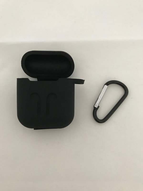 Case-Cover-Voor-Apple-Airpods---Siliconen-zwart