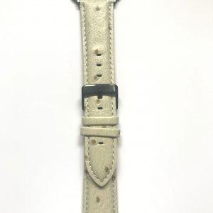 Struisvogel leren bandje met klassieke gesp voor Apple Watch 38mm |40mm | 42mm | 44mm Iwatch Series 08.jpeg