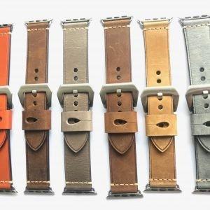 Leren bandje met klassieke gesp voor Apple Watch 38mm |40mm | 42mm | 44mm Iwatch Series 200.jpeg