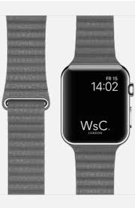 Pu loop Apple Watch bandje voor de Apple watch 38mm - 40mm 6