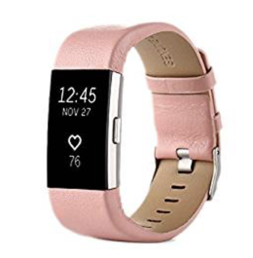 Fitbit Charge 2 bandje Licht roze