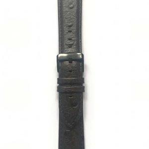 Struisvogel leren bandje met klassieke gesp voor Apple Watch 38mm |40mm | 42mm | 44mm Iwatch Series 1/2/3/4