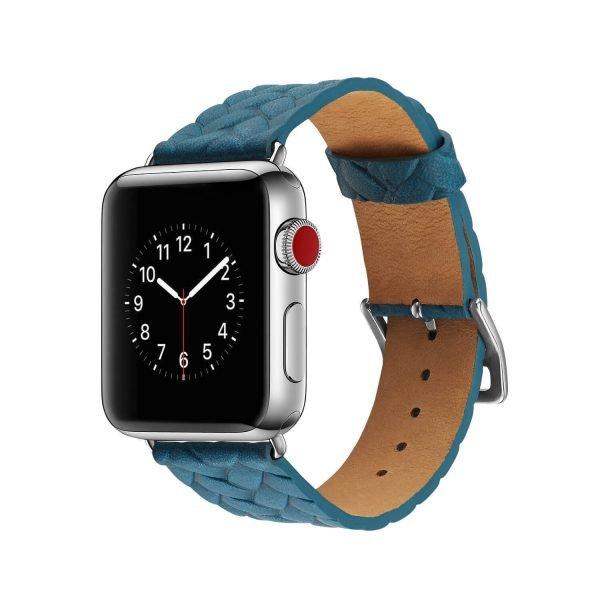 Apple-Watch-bandje-blauwvleer-gevlochten-met-zilverkleurige-gesp-1.jpg