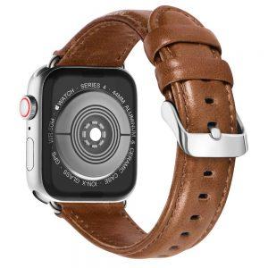 Apple-Watch-leren-bandje-bruin-met-klassieke-zilverkleurige-gesp-1.jpg