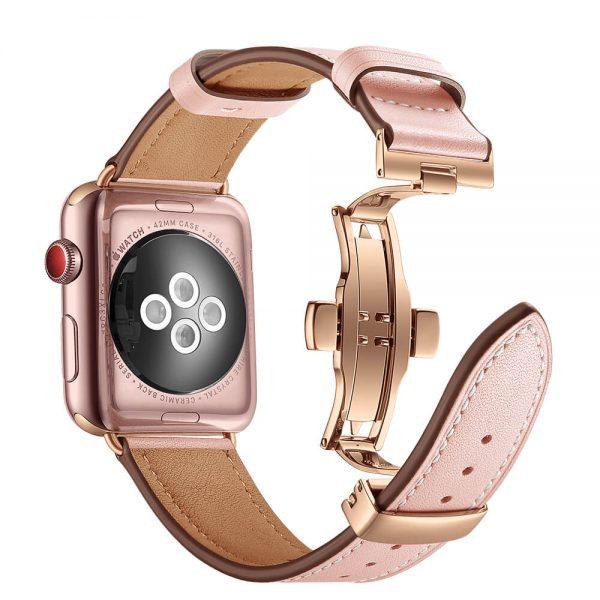 Leren-Apple-Watch-bandje-met-klassieke-goudkleurige-gesp-roze-2-.jpg