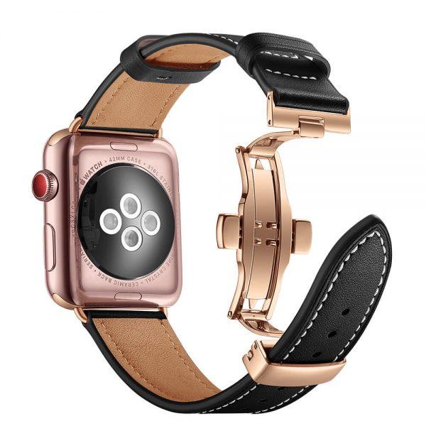 Leren-Apple-Watch-bandje-met-klassieke-goudkleurige-gesp-zwart-2.jpg