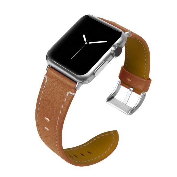Leren-bandje-Apple-Watch-met-zilverkleurige-gesp-bruin-1.jpg
