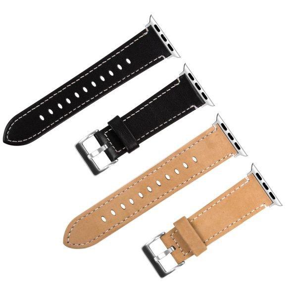 Leren-bandje-Apple-Watch-met-zilverkleurige-gesp-lichtbruin-4.jpg