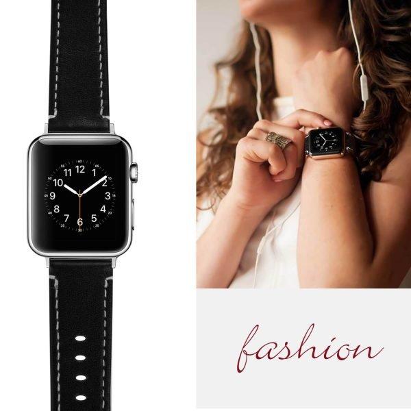Leren-bandje-Apple-Watch-met-zilverkleurige-gesp-zwart-6.jpg