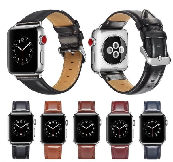 leren apple watch bandje