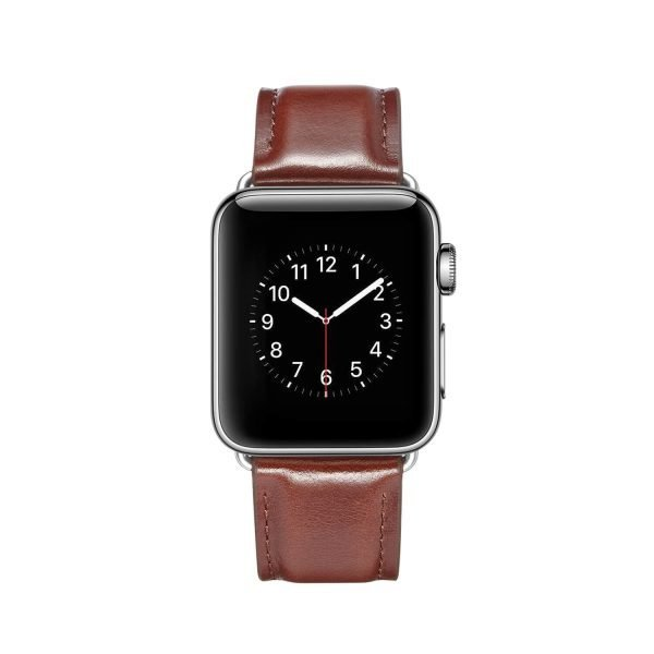 leren apple watch bandje bruin 1