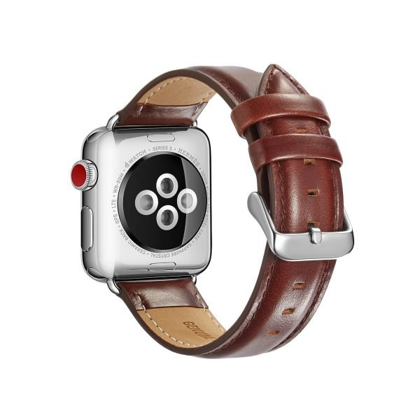 leren apple watch bandje bruin 3