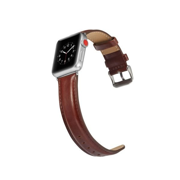 leren apple watch bandje bruin 5
