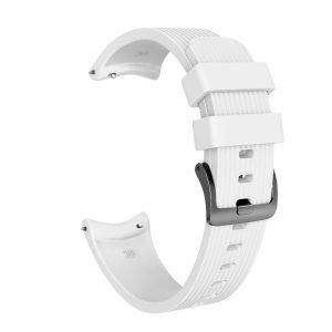 Bandje Voor de Samsung Gear S3 Classic - Frontier - Siliconen Samsung Galaxy Watch 46mm -wit_0002007